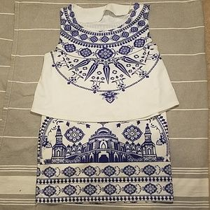 Crop Top and Skirt Bundle